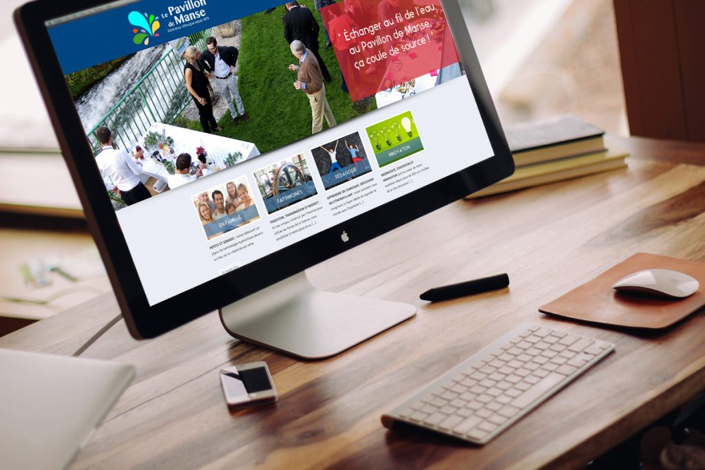 creation site internet pavillon manse