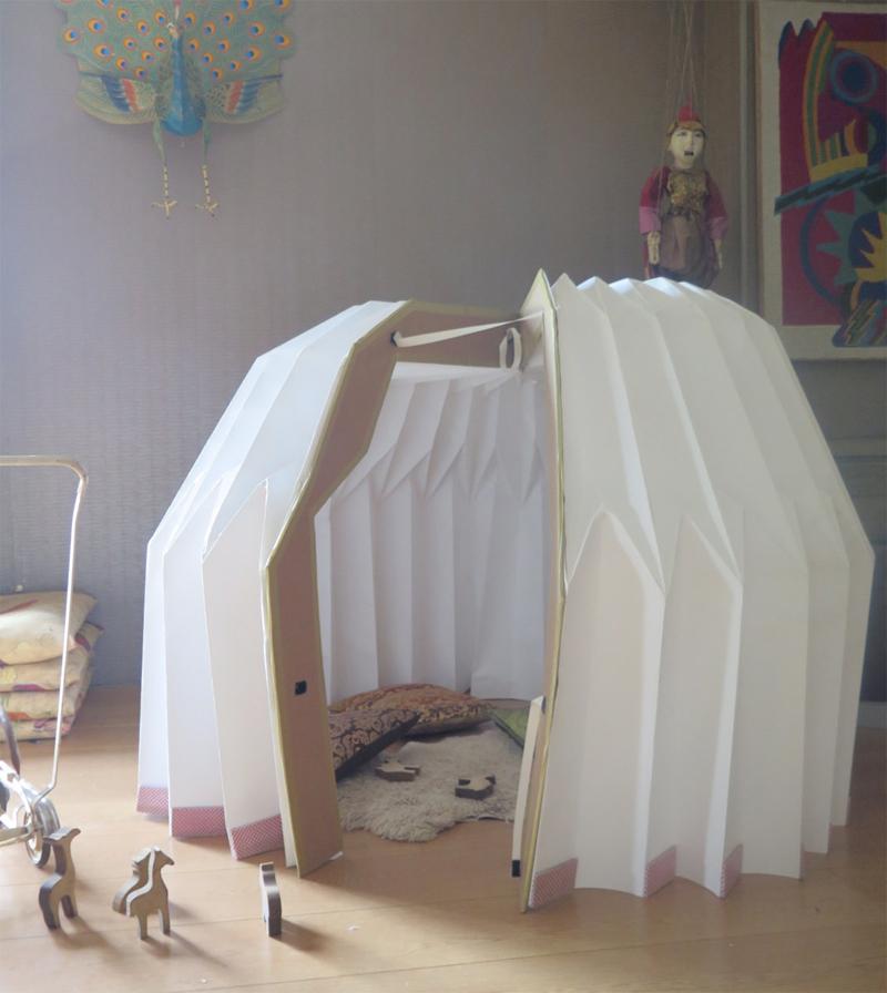 origanid cabane pliable pour enfant