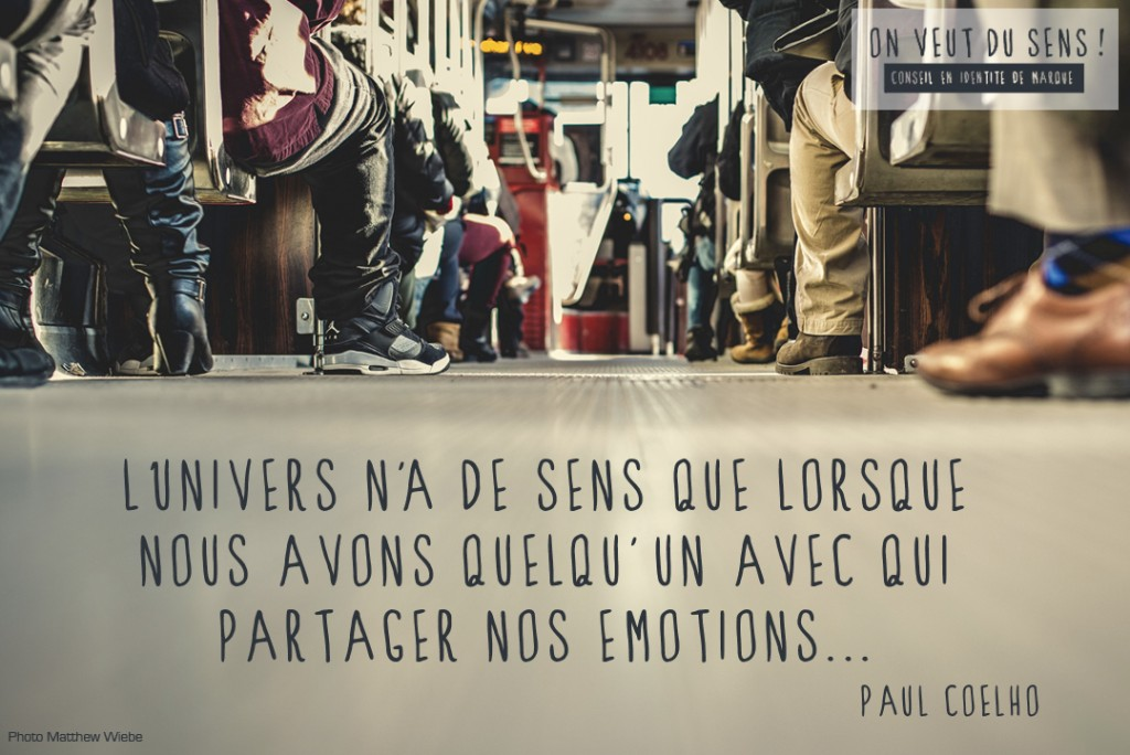partager ses emotions marketing